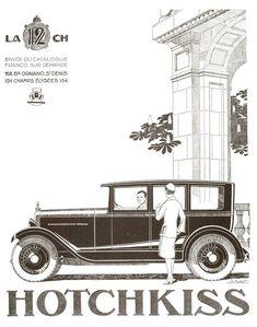 https://flic.kr/p/dTzmpc   The 1920s-1926 Hotchkiss car ad