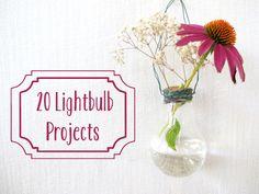 Bright Ideas: 20 Lightbulb Projects