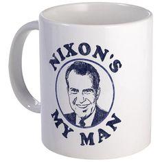 Nixon's My Man T-Shirt Mug
