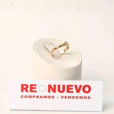 Solitario de compromiso de oro y diamante joya segunda mano E275170A   Tienda online de segunda mano en Barcelona Re-Nuevo