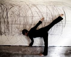 Mark Making Performance by Anastasia Faiella | Art - Performance ...