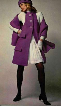Lanvin vintage coat 1968