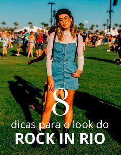 Separamos 8 looks para se inspirar para o ROCK IN RIO
