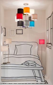 It's About RoMi :: Lampa podłogowa NOWY YORK 18x15cm