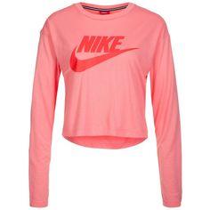 Nike Sportswear Essential Sweatshirt Damen für 37,95€. Nike Sportswear Logo auf der Brust, Rundhalsausschnitt, Hohe Strapazierfähigkeit bei OTTO