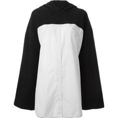 Wanda Nylon oversized hoodie (1906500 PYG) ❤ liked on Polyvore featuring tops, hoodies, black, oversized hoodie, oversized hoodies, oversized tops, hoodie top and sweatshirt hoodies