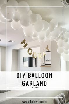 Today I am sharing one of my favorite DIY's with you… how to make your own balloon garland! I started...