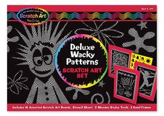 Zestaw do grawerowania Melissa & Doug - Wacky Patterns