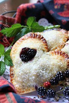 Fresh Wild Blackberry Pocket Pies