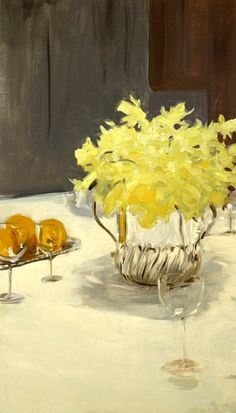 Still Life with Daffodils - John Singer Sargent late 19th C