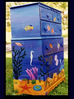 Hand Painted Furniture & Other Artistic Creations by Reincarnations - Painted Dressers