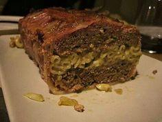 Bacon macaroni meatloaf