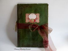 #book #wedding #guest #vow #wishes #rustic by VintageShabbyRustick on Etsy