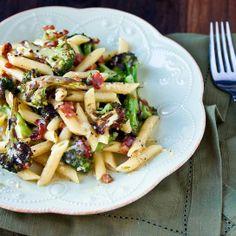 #Healthy #Recipe / Roasted Broccoli Carbonara