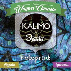 Stampa Studio + Kalimo (Ipanema). FOTOPRINT Workshop de Estampas Fotográficas com Wagner Campelo. Dias 21 e 22 de agosto de 2015.