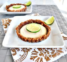 Healthy Key Lime Tarts - My Whole Food Life