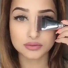 Maquiagem # Make # Make-up # Girl # Dicasdema Make-up # Dicasdema Make-up Basic Pool Maintenance Tip Nose Makeup, Contour Makeup, Eyebrow Makeup, Skin Makeup, Eyeshadow Makeup, Makeup 101, Beauty Makeup Tips, Makeup Inspo, Makeup Inspiration