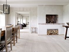 A summerhouse located on the island Sylt in Germany - Images through Dinesen via April and May