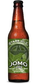 """Jomo Lager - Starr Hill Brewery LLC, Crozet, VA : A prize-winning """"light-orange-amber lager"""", with depth and color and a """"delicate, crisp profile"""". """"Grassy and floral German hops"""" """"lend the beer a Continental polish"""". A """"delicious Virginia-brewed beer""""."""