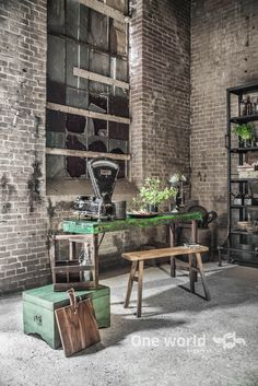 Things That You Need To Know When It Comes To Industrial Decorating You can use home interior design in your home. Industrial Style Kitchen, Vintage Industrial Decor, Industrial Interiors, Industrial Living, Industrial Chic, Loft Kitchen, Loft Design, House Design, Home Interior Design