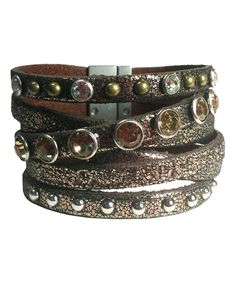 Bronze Leather Bracelet