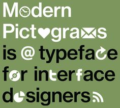 Get your free font icons!