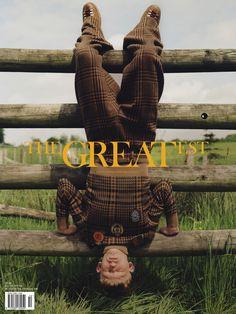 THE GREATEST #10- - THE AWAKENING ISSUE - PHOTO BENJAMIN VNUK - FASHION EDITOR GAELLE BON - MODEL CONNOR NEWALL at NEW MADISON -GROOMING YUJI OKUDA at AGENCE SAINT GERMAIN - TOTAL LOOK #DRIESVANNOTEN