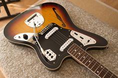 Fender Japan Special Edition Thinline Jaguar, Sunburst
