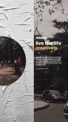 Creative Instagram Stories, Instagram Story Ideas, Typography Layout, Graphic Design Typography, Photography Lessons, Creative Photography, Draw On Photos, Typographic Design, Instagram Story Template