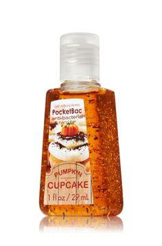 Pumpkin Cupcake PocketBac Sanitizing Hand Gel - Anti-Bacterial - Bath & Body Works
