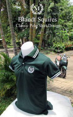 Dark Green Polo Shirt $16.99 Polo Shirt Design, Polo Fashion, Green Polo Shirts, Shirt Style, Shirt Designs, Dark, Classic, Life, Derby