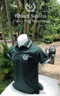 Dark Green Polo Shirt $16.99