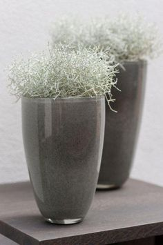 Large flowervase in new grey