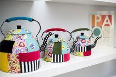 patchwork teapots