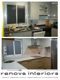 Cocinas peque as con planos - Reforma cocina pequena ...