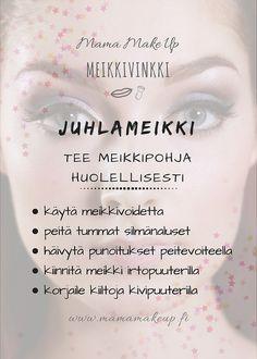 Meikkipohja Make Up, Personal Care, Eyes, Beauty, Self Care, Personal Hygiene, Makeup, Beauty Makeup, Beauty Illustration