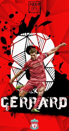 Liverpool Football Club, Liverpool Fc, This Is Anfield, Steven Gerrard, Champions League, Soccer, Times, Wall, Red