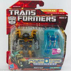 Transformers HUFFER with CALIBURST mini-con Power Core Combiners MONMC - Hasbro