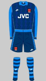 1994-1995 Arsenal Kit