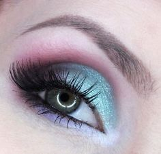 Mint & Plum - #mintshadow #plumshadow #violetshadow #eyeshadow #eyemakeup #eyes #aleksandrapl -  Bellashoot.com (iPhone, iPad & Web)