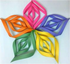 How to make a Kirigami Paper Star