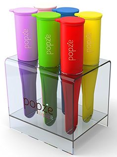 Popze IcePopIt Premium Popsicle Molds with Elegant Stand - 6 Silicone Dessert Treat Molds 100% BPA-free FDA Approved... Fighter Pilot in the Kitchen http://www.amazon.com/dp/B00NQY1YIE/ref=cm_sw_r_pi_dp_LJzAvb0CHHZD3
