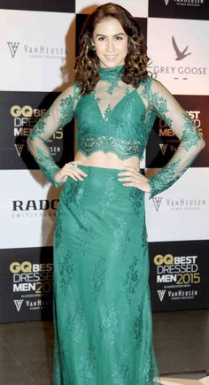 The GQ Best-Dressed Men Awards, which were held in Mumbai, saw the who's who of Bollywood dressed to kill for the event. Best Dressed Man, Dressed To Kill, Bollywood Dress, Bollywood Fashion, Actress Navel, Female Stars, India Beauty, Stylish Girl, Woman Crush