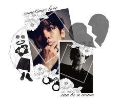 """- ✿❀ Dont Break My Heart Baby // Baekhyun ❀✿ -"" by xxxaskingalexandriaxxx ❤ liked on Polyvore featuring Sacai, Chantal Thomass, Converse, Miss Selfridge and Ray-Ban"