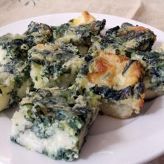 Spinach Cheese Bars Recipe 2 | Just A Pinch Recipes
