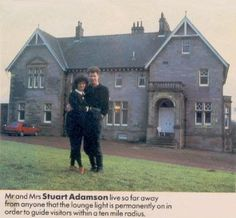 Balmule House Back in 1983 Stuart Adamson's finances improved due to the extremely high levels success of his band Big Stuart Adamson, Tower House, Big Country, Handsome Man, Dream Houses, Heroines, Old Houses, Guitars, Families