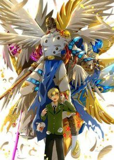 Takeru and Patamon digivolutions, Digimon Adventure TRI.