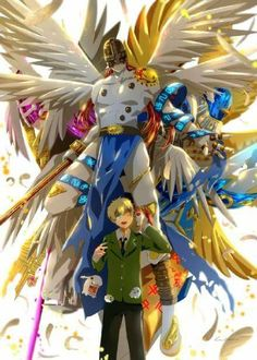 Takeru and Patamon digivolutions, Digimon Adventure TRI.