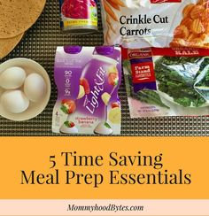 5 time saving meal prep essentials