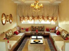 décor arabe   Découration salon marocain - Photo Deco Maison - Idées decoration ...